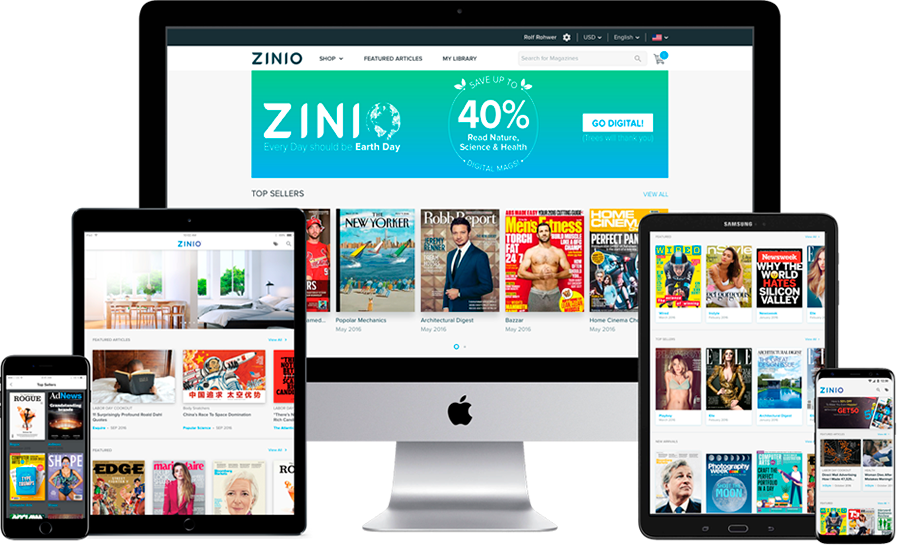 ZINIO Pro - The Leading Technology Platform for Digital